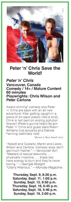 Pete n Chris Save the World