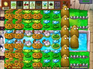 Winning Plants vs Zombies Survival Pool (Hard)